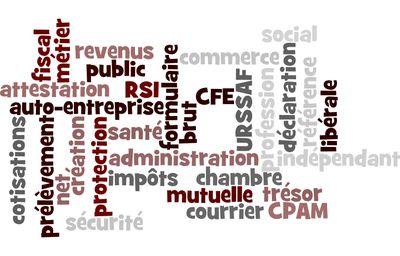 Nuage de mots administratifs