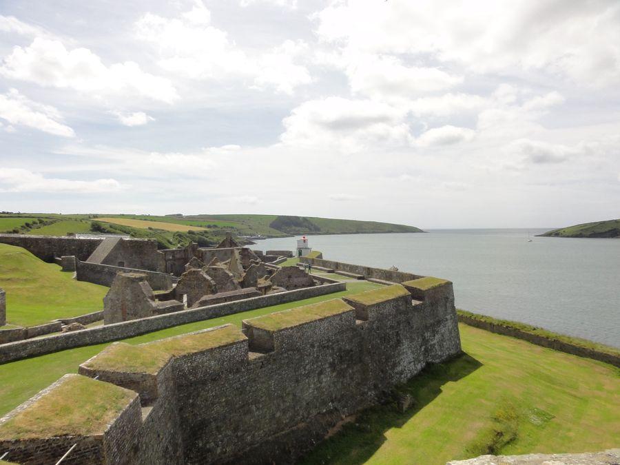 Fort de Kinsale en Irlande