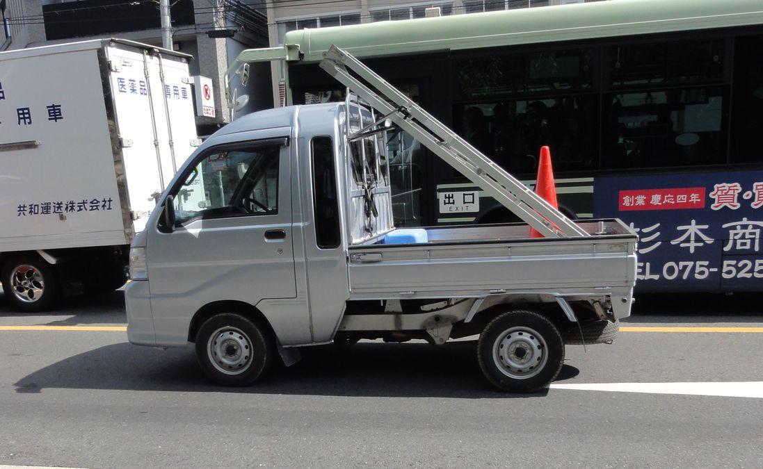 Micro-camionnette japonaise